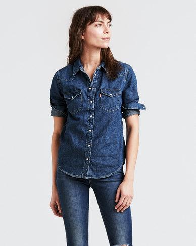 Ultimate Western Shirt Blue