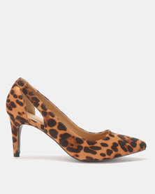 Queue Printed Courts Leopard