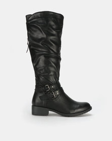 Franco Ceccato Long Boots Black