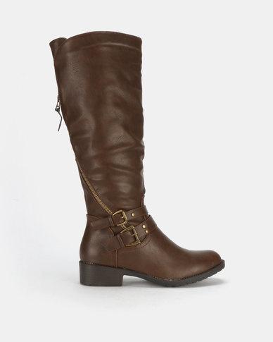 Franco Ceccato Long Boots Brown