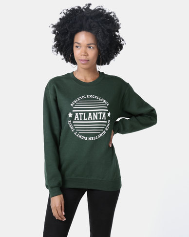 Daisy Street Pull Over Sweater Green