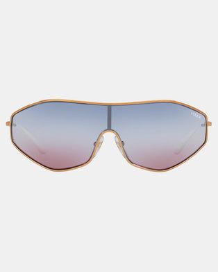 a043bcb600d Vogue Gigi Hadid G-Vision Sunglasses Rose Gold
