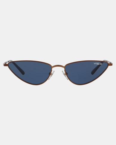 Vogue Gigi Hadid Lafayette Sunglasses Bronze/Copper