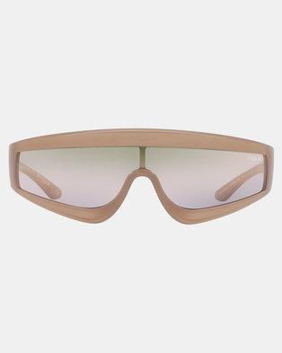 d1b724855d1 Vogue Gigi Hadid Zoom in Sunglasses Opal Turtledove