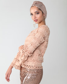 Mishah Sequin Turban