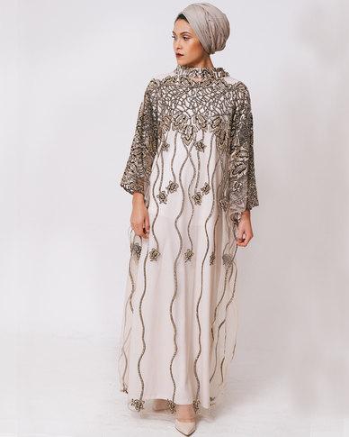 Mishah Embellished Kaftan Maxi