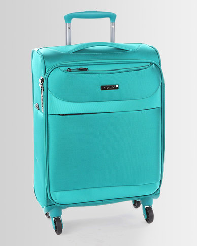 Cellini Xpress 4 Wheel Trolley Case 520mm Lagoon