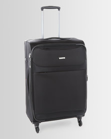 Cellini Xpress 4 Wheel Trolley Case 650mm Black