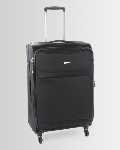 Cellini Xpress 4 Wheel Trolley Case 650mm Black