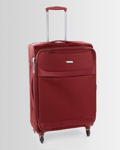 Cellini Xpress 4 Wheel Trolley Case 650mm Red