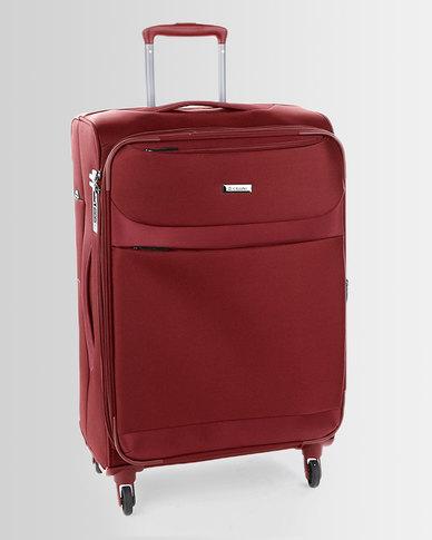Cellini Xpress 4 Wheel Trolley Case 770mm Red