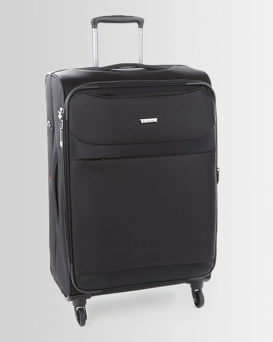 Cellini Xpress 4 Wheel Trolley Case 770mm Black