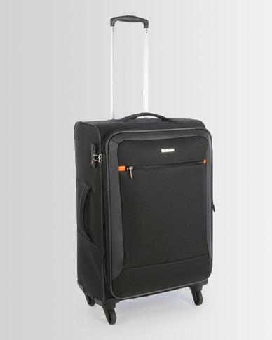 Cellini Carnival 4 Wheel Trolley Case 660mm Black