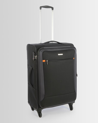 Cellini Carnival 4 Wheel Trolley Case 660mm Black