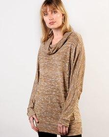 Marique Yssel Dolman Jumper - Gold