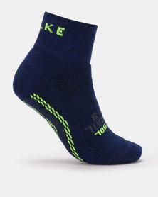 Falke Performance Falke Cool Trail Anklet Unisex Royal Blue & Neon Lime