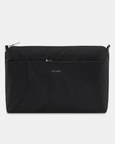 Picard Switch Fabric Handbag Black