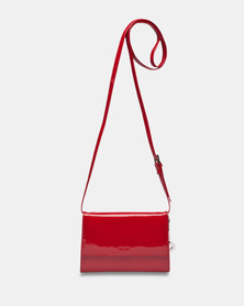 Picard Auguri Evening Shoulder Handbag Red Lacquer