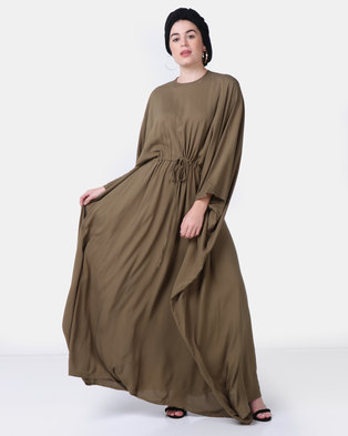 5f8549147be Faisa Southafrica Kaftan Olive Green