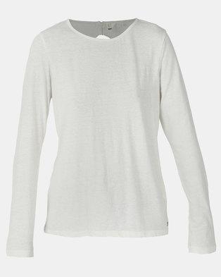 Roxy Delicate Sense T-Shirt Marshmallow