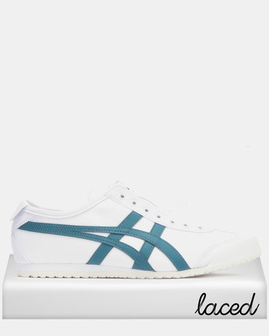 new york 05022 abf34 Onitsuka Tiger Mexico 66 Slip On White/Spruce Green
