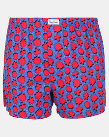 Happy Socks Comic Relief Boxer Blue/Red