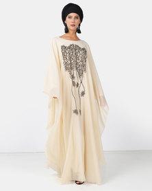 Mishah Embellished Flowy Abaya