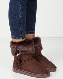 Utopia Faux Fur Comfy Boots