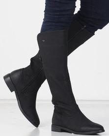 Miss Black RAINER (4) Long Boot Black