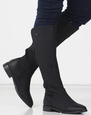 f264eb1aef88 Miss Black RAINER (4) Long Boot Black