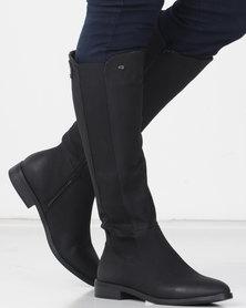Miss Black ROUTE 66 (7) Long Boot Black