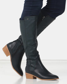 Miss Black GAEL Long Boot Green