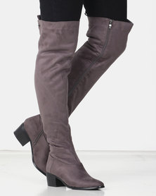 Miss Black EMMALINE OTK Boot Grey