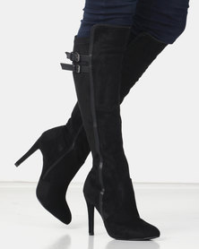 Miss Black AUDRA 2 Long Boot Black