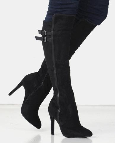 Miss Black AUDRA 2 Long Boot Black