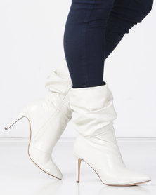 Miss Black TRIXI Boot White