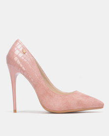 Miss Black IDA Court heel Pink