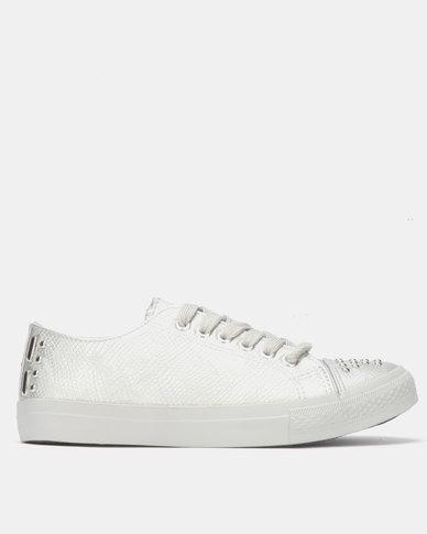 Miss Black ODETTE Sneaker Silver