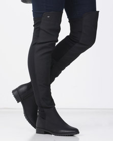 Miss Black KRABI OTK Boot Black