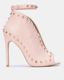 Miss Black LUA Boot Pink