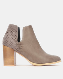 Miss Black ZONKE Boot Grey