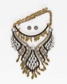 The Jewellery Box Bohemian Tassel Necklace - Gold