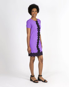 Mamoosh shift dress Purple