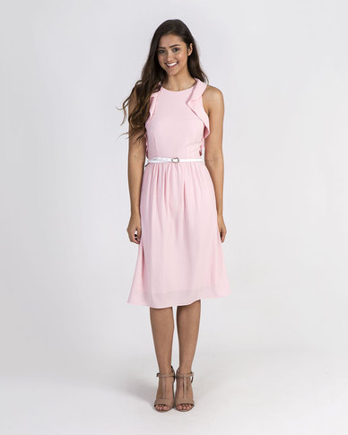 Mamoosh A-line dress Soft pink