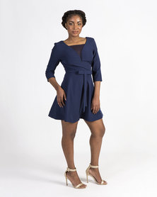 Mamoosh A-line dress Navy
