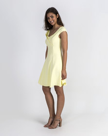 Mamoosh A-line dress Pale yellow