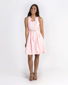 Mamoosh A-line dress Pale pink