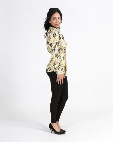 Mamoosh floral tunic Yellow