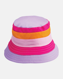 Emthunzini UPF50+ Kids Charlie Style Pink Sunhat 55cm
