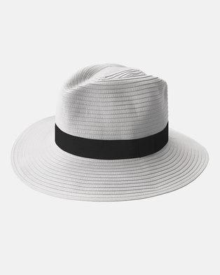 946e1f8a7c2 Emthunzini UPF50+ Safari White Black Sunhat 58cm